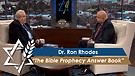 Dr. Ron Rhodes : The Bible Prophecy Answer Book (February 27,2017)